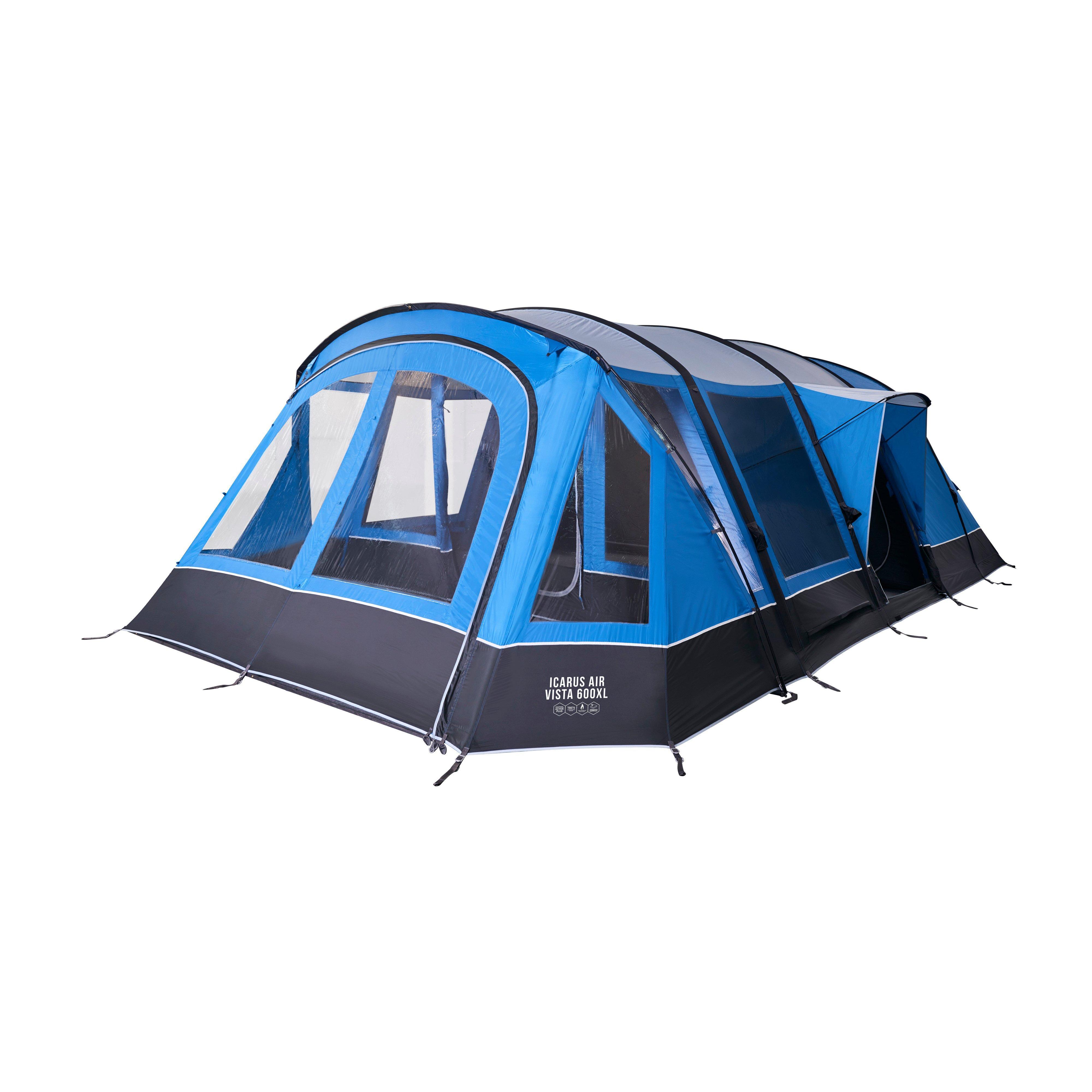 Vango Icarus Air Vista 600XL Inflatable Tent, BBL/BBL
