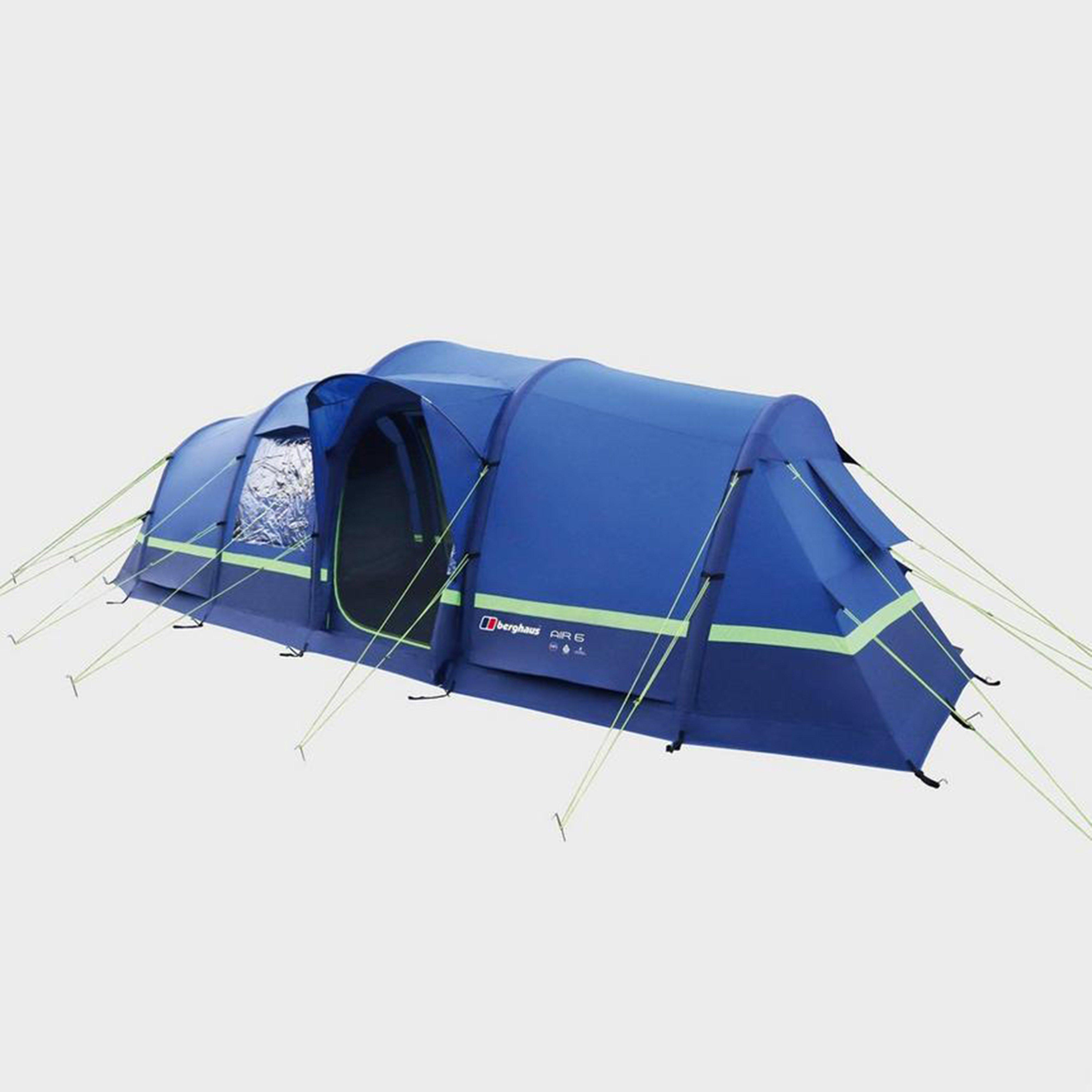 Berghaus Air 6 Inflatable Family Tent - Blue, Blue