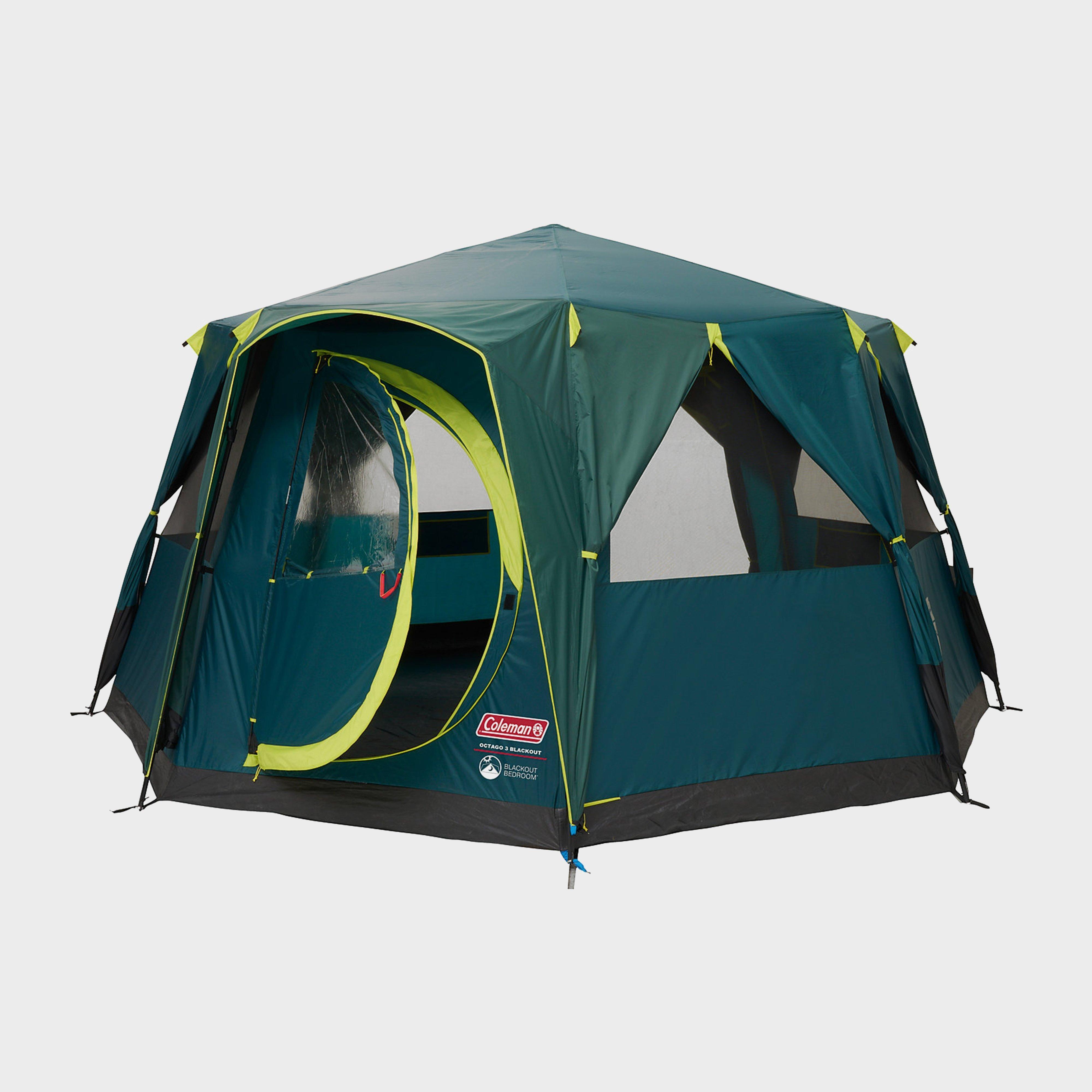 Coleman Octagon Blackout Tent - Green/Grn, Green/GRN
