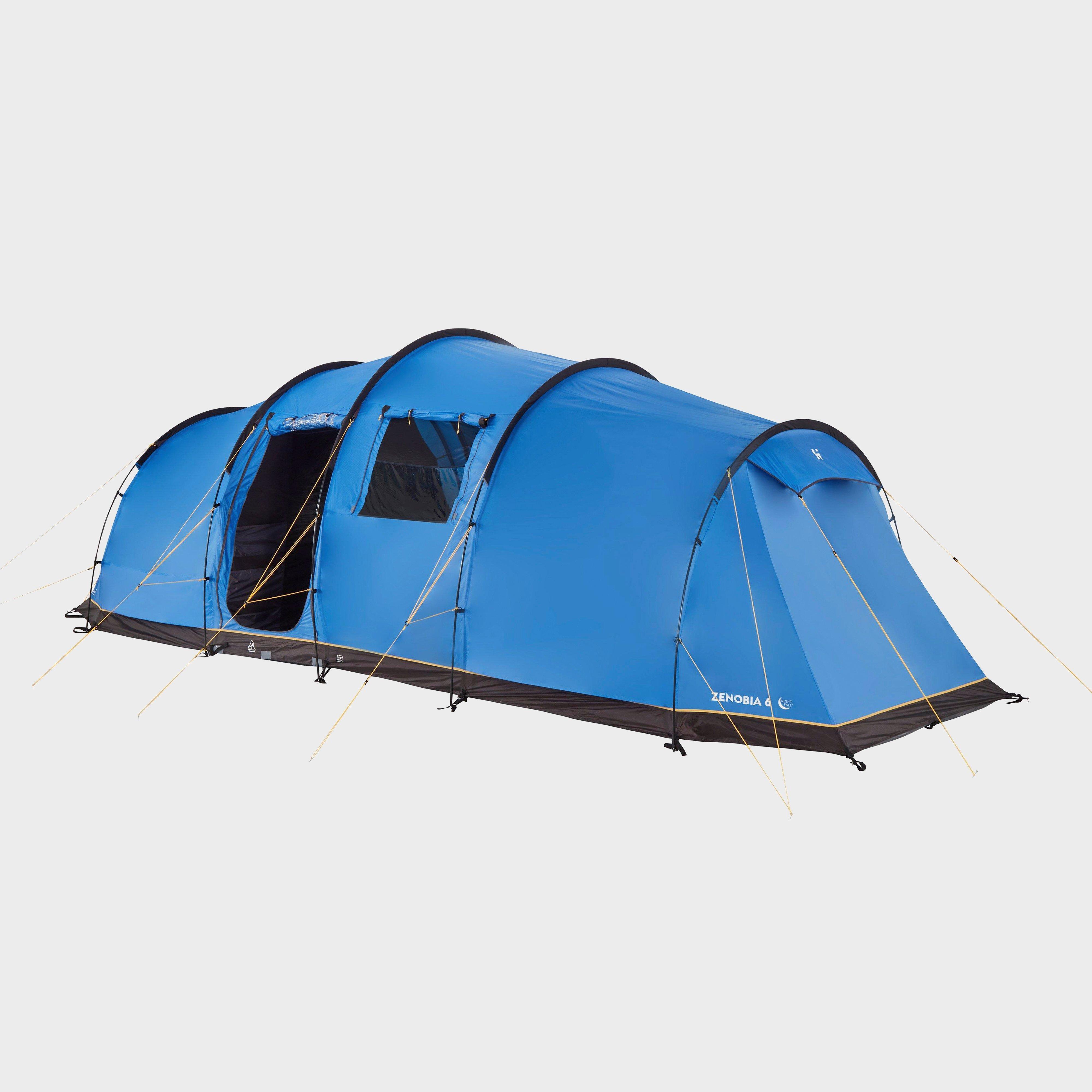 Hi-Gear Zenobia 6 Nightfall Tent - Blue/Igo, Blue/IGO