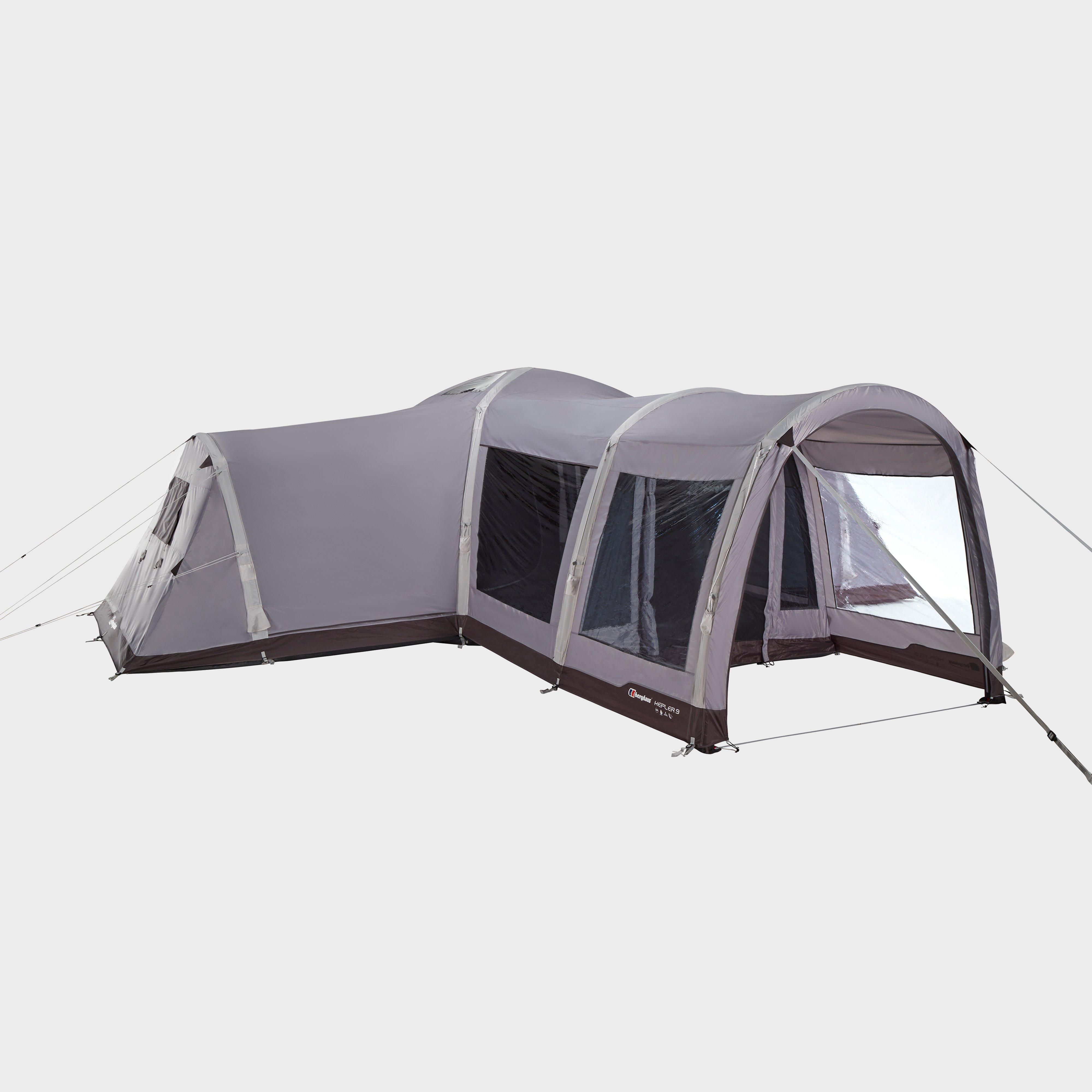 Berghaus Kepler 9 Nightfall Air Tent, Grey/LGY