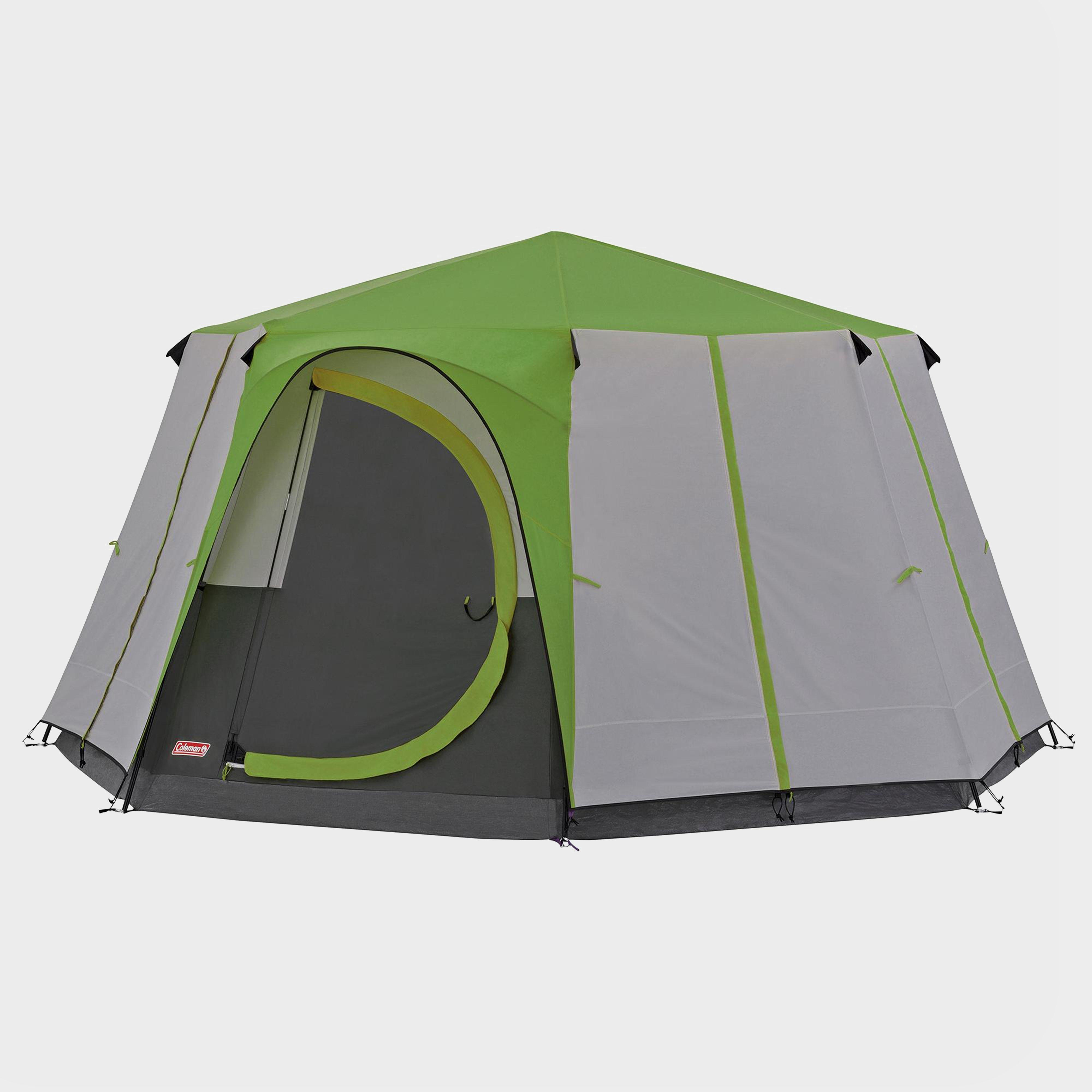 Coleman Cortes Octagon 8 Tent - Green/Grn, Green/GRN