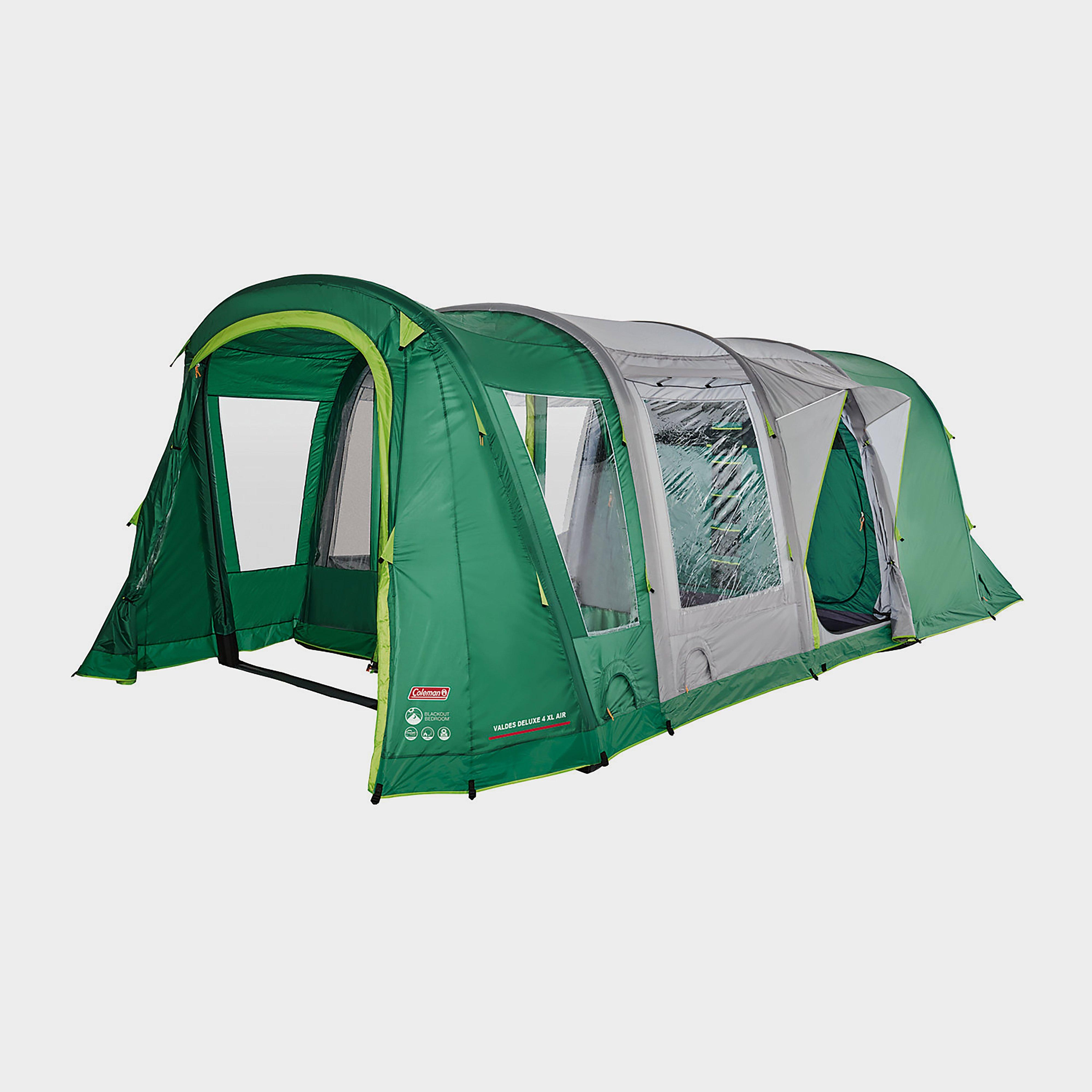 Coleman Valdes Deluxe 4 Xl Air Blackout Bedroom Family Tent - Green/Green, Green/Green