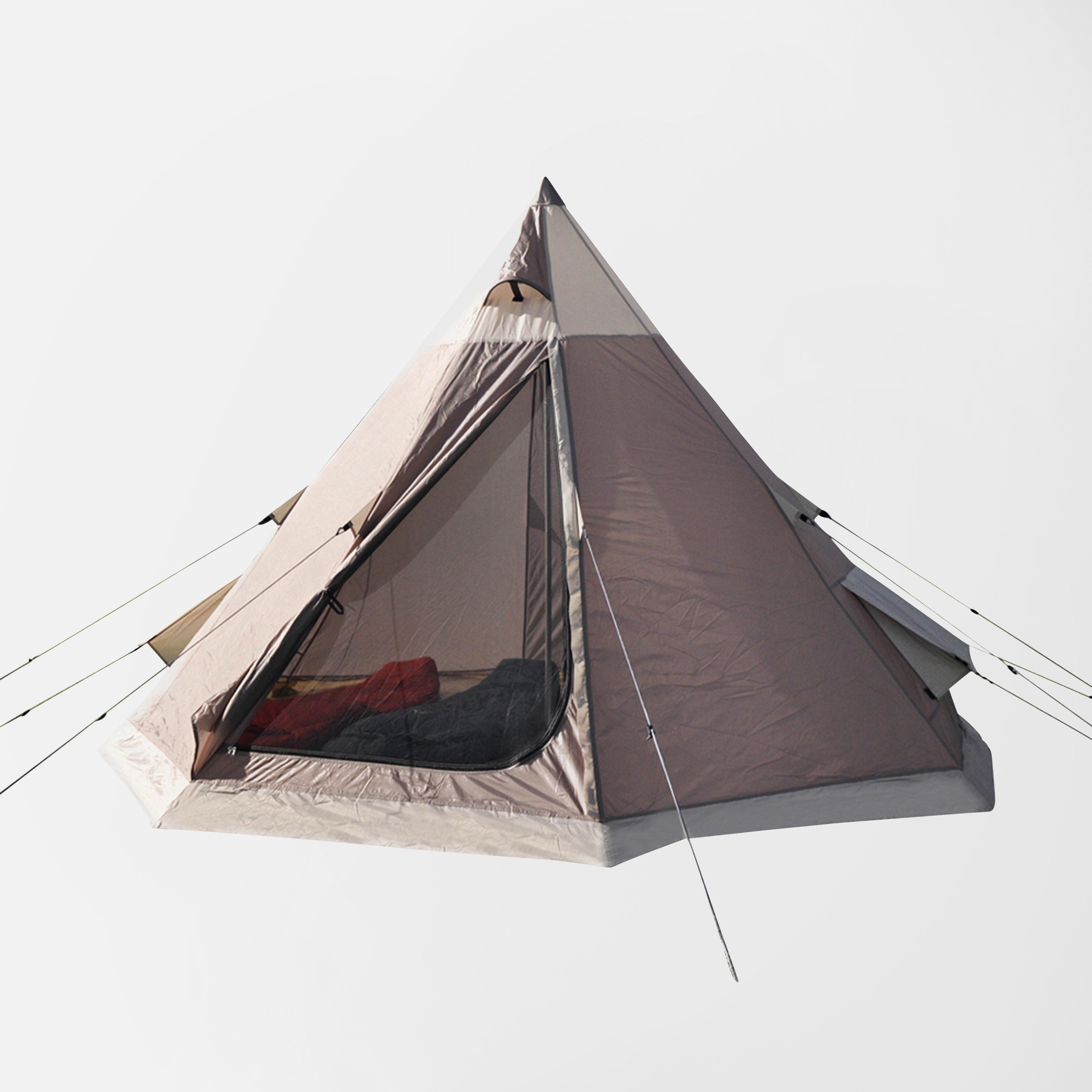 Eurohike Teepee Tent - Brown/Tau, Brown/TAU