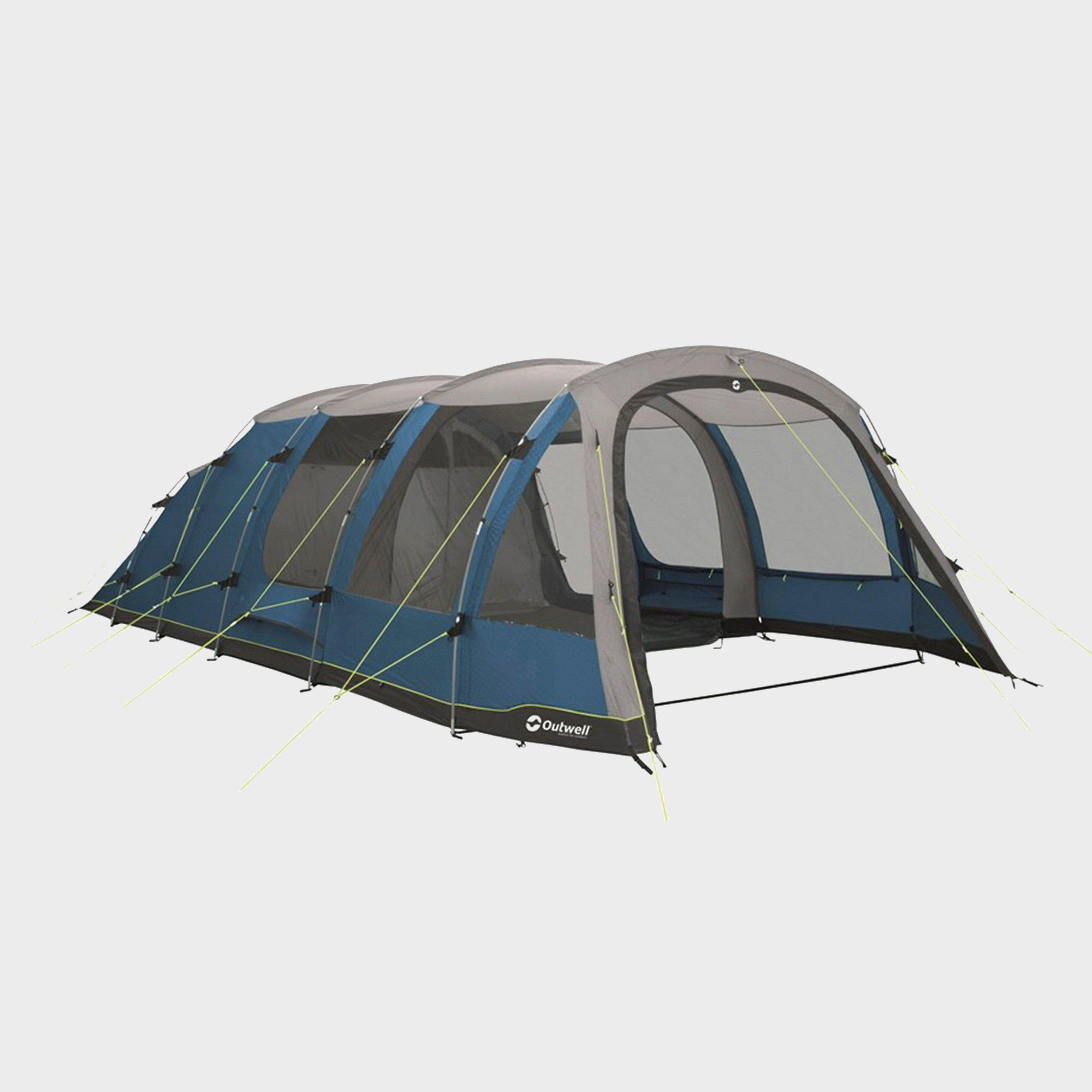 Outwell Harwood 6 Family Tent - Blue, Blue