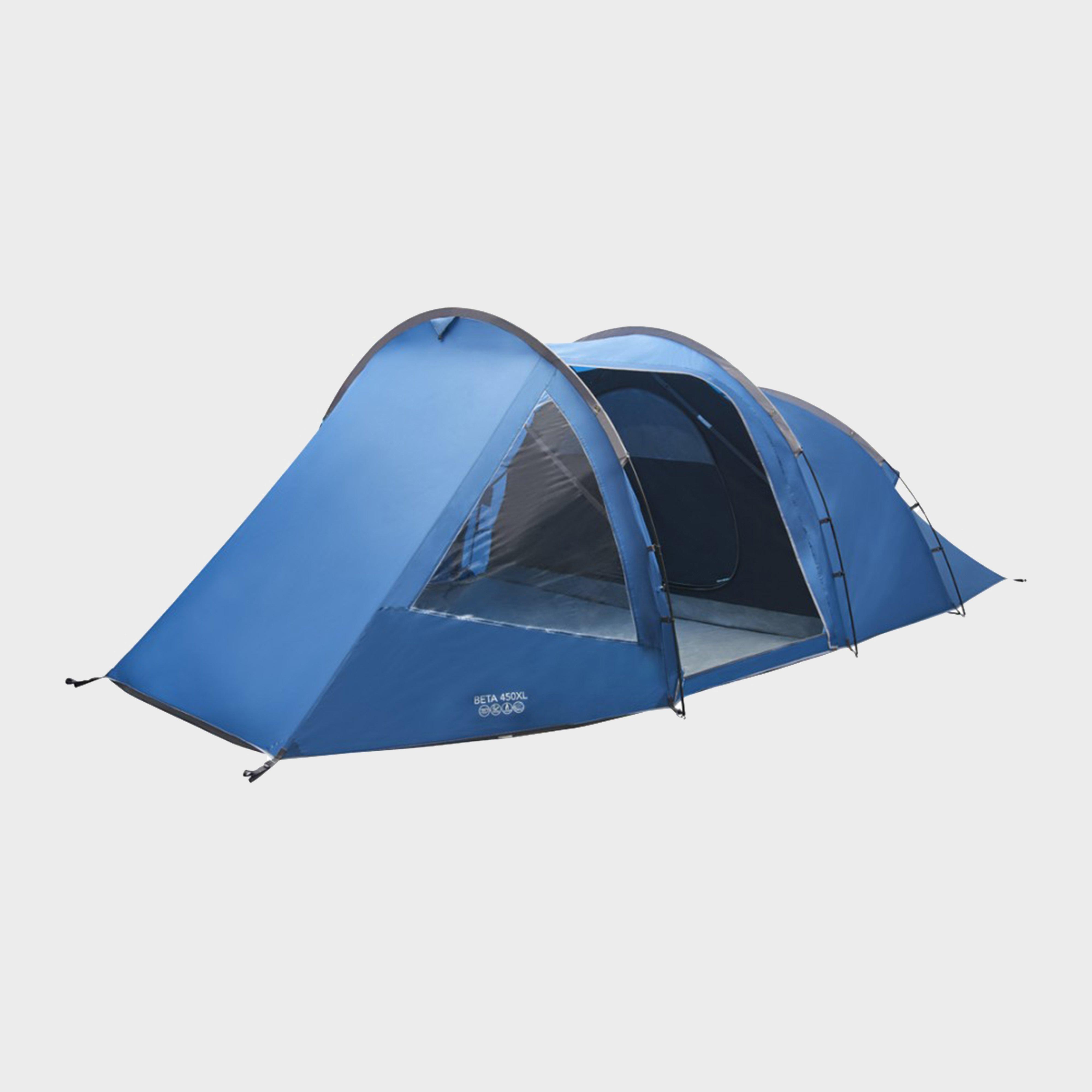 Vango Beta 450XL Family Tent, Blue/XL